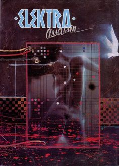 Cover to limited-edition 1987 ELEKTRA: ASSASSIN hardcover.
