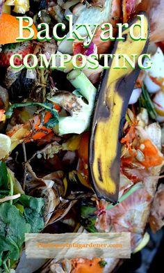 Backyard Composting in Winter - The Hypertufa Gardener