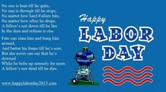 Labor Day Poems