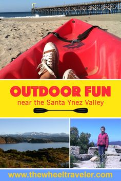 Outdoor adventures are nearby when you visit the Santa Ynez Valley