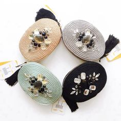 ● Bolsos de cordón de seda   Modelo CHARLOTTE   Diseño de OLVIDO MADRID