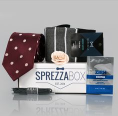 SprezzaBox is the perfect gift for any guy in your life - whether it's for graduation, birthday or Father's Day. Give the gift of the style for $28 a month: www.sprezzabox.com