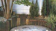 curved railway sleeper beds - Google Search