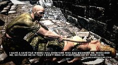 """19 Sadistic, Appalling, And Hilarious Things Gamers Have Done In """"Skyrim"""""""
