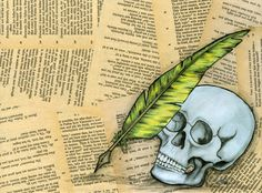 A Shakespeare inspired piece using vintage book pages and original artwork. Boring Life, Gaston, Book Pages, Shakespeare, Unique Art, Original Artwork, Hand Painted, Inspired, The Originals
