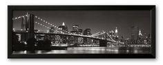 The Brooklyn Bridge and Manhattan Skyline #Kohls #home #decor
