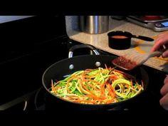 """How to make Zucchini """"Pasta"""""""