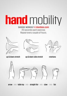 Hand Mobility Workout | Posted By: AdvancedWeightLossTips.com