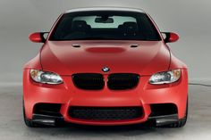 Frozen Red BMW M3 limited edition