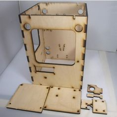 3d Printer ReprapTantillus 3D Printer 6mm wooden Laser Cut Frame kit/set 6mm thickness high quality free shipping