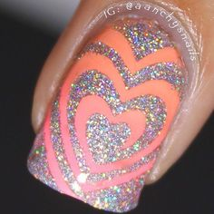 Check out this macro by @aanchysnails! Get Heart Swirls from snailvinyls.com✨ - Heart #NailVinyls  www.snailvinyls.com