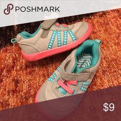 Garanimals shoe size 5 Gray and pink strap shoes garanimal Shoes Sneakers