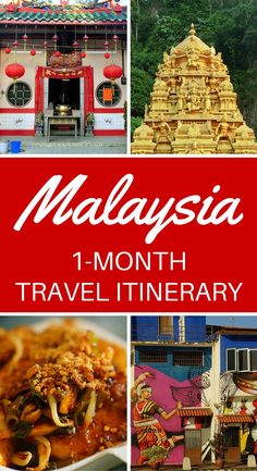 One month Malaysia travel itinerary for backpackers. This Malaysia travel guide covers Kuala Lumpur, Melaka (Malacca), Georgetown, the and Cameron Highlands. If you're planning a trip to Southeast Asia, Malaysia is not to be missed!