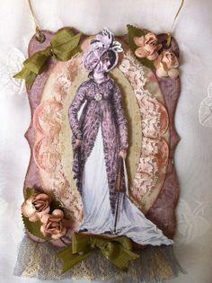 Regency Style Tag Ornament Jane Austen All Occasion by ParisPluie, $15.50
