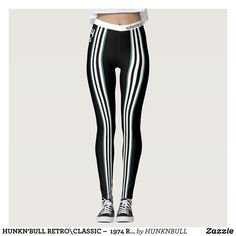 HUNKN'BULL RETRO\CLASSIC   1974 RACING T\ LEG LEGGINGS : Beautiful #Yoga Pants - #Exercise Leggings and #Running Tights - Health and Training Inspiration - Clothing for #Fitspiration and #Fitspo - #Fitness and #Gym #Inspo - #Motivational #Workout Clothes - Style AND comfort can both be achieved in one perfect pair of unique and creative yoga leggings - workout and exercise pants - and running tights - Each pair of leggings is printed before being sewn allowing for fun designs on every square…