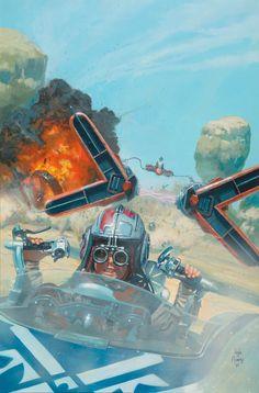 Spotlight of the Week - Podracers: Very fast, very dangerous.