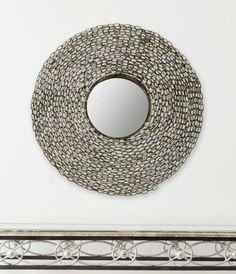 Jeweled Chain Mirror