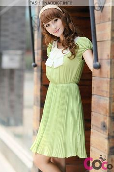 Cute Korean Dresses