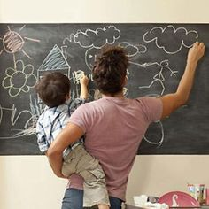 45x200cm Removable Black Chalkboard Blackboard Wall Decal Sticker Label Paper | eBay
