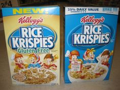 Buying Kellogg's Gluten-Free Rice Krispies with a link to making GF / Dairy Free rice krispie treats