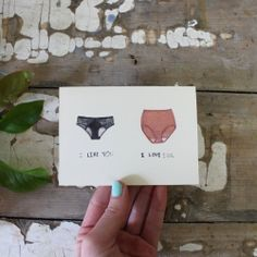 I Like You, I Love You card made by Carissa Potter