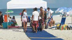 Beach Access by AdaptSurf with Mobi-Mat® Recpath: Rio de Janeiro More information : www.mobi-mat-chair-beach-access-dms.com