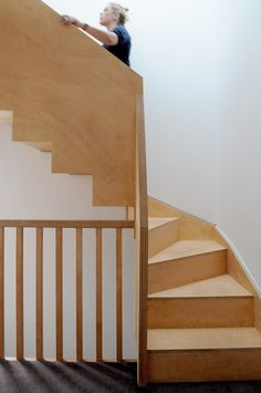 Bannister, Home And Family, New Homes, Stairs, Interior Design, Projects, Staircases, Lofts, Architects