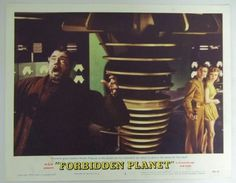 Lobby card for the 1956 MGM motion picture, FORBIDDEN PLANET.