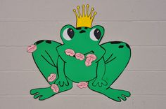 Kiss the frog. Played at a princess birthday party