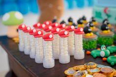 Produto: Mini Tubete  Tema: Mario Bros