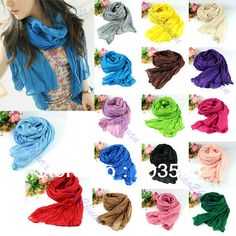 Women's Scarf Autumn And Winter. 17 Colors on AliExpress.com.
