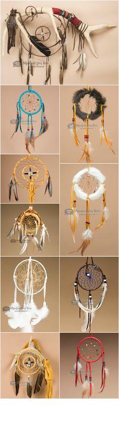 Native American dream catchers and medicine wheels  http://www.missiondelrey.com/native-american-dream-catchers/