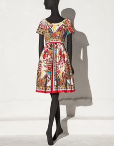 Dolce&Gabbana|F6PR4T-FP5IJ|3/4 length dresses|Dresses