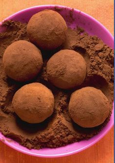 Peanut Butter Truffles from the Biggest Loser recipes