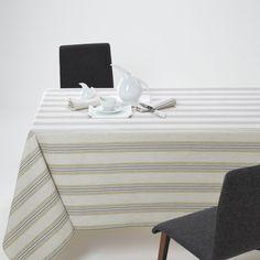 La Redoute Interieurs Ferm Striped Tablecloth.