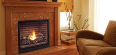 Solitaire fireplace by Majestic