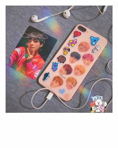 //🍒/ @peachymims (not mine) follow me for more :)) Kpop Phone Cases, Diy Phone Case, Phone Cover, Iphone Cases, Bts Memes, Army Room Decor, Aesthetic Phone Case, Bts And Exo, Kpop Merch