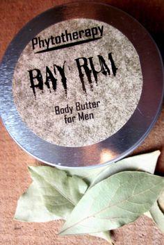 Bay Rum Body Butter for Men