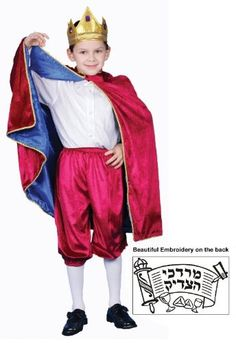 41 best halloween and purim costume ideas images on pinterest amazon deluxe purim char costume set mordechai small 4 6 solutioingenieria Image collections
