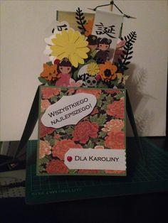 3d flower box - dla miłośniczki kultury japońskiej