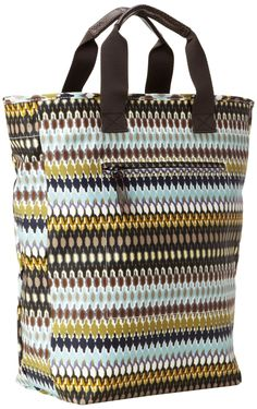 Amazon.com: Echo Design Womens African Dots Tote Bag, Black, One Size: Clothing