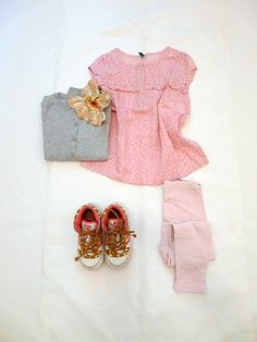 outfit for kids BENETTON KIDS PINK BLOUSE on www.fiammisday.com