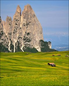 Alpi di Siusi - Punta Santner Peak, Bolzano, South Tyrol, Italy. | by Luigi Alesi on Flickr