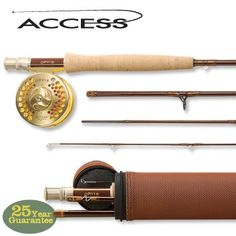 Access offers a version of the fly fishing rod with performance characteristics that are as good as any rod on the market at a price that is hard to believe. It's lightweight and yet has the ability t