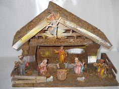 REDUCED!~Vintage Italian Nativity Scene~Made In Italy~1960's-1970's
