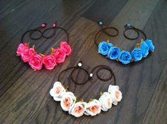 Flowerhalo, Flowercrown, Flowerheadband, Headband, Summer, Flowers, Roses