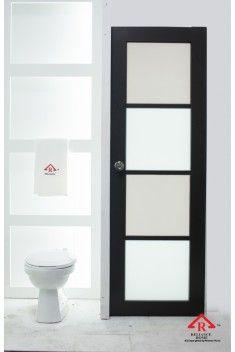 Bifold Door Toilet Doorbathroom Door Doors Door Design Folding Door