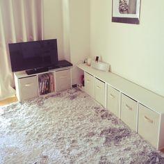 シンプル/収納/一人暮らし/カラーボックス/部屋全体のインテリア実例 - 2014-09-14 09:35:36 | RoomClip(ルームクリップ)