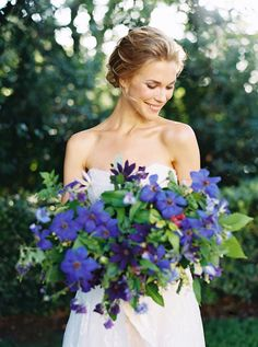 Elegant Victoria's Secret Bridals - Real Weddings - Once Wed Once Wed, Purple Wedding, Wedding Flowers, Wedding Story, Bridal Portraits, Flowers In Hair, Beautiful Bride, Engagement Session, Real Weddings