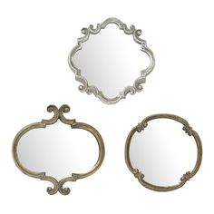 3-Piece Meadow Wall Mirror Set